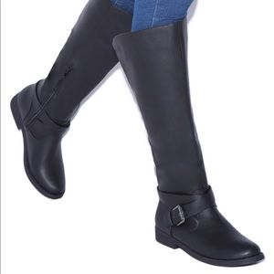 Shoedazzle NIB SOLD OUT Patti Flat riding boots